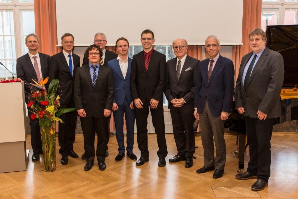 Foto-Verleihung SICK-Foerderpreise-TU-Dresden