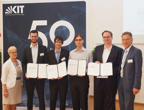 Gisela und Erwin Stiftung vergibt erstmals Wissenschaftspreise am KCIST